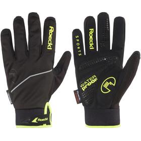 Roeckl Renco Handschuhe schwarz/gelb